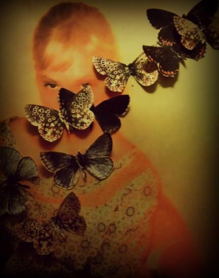 butterfly sofia vondell collage
